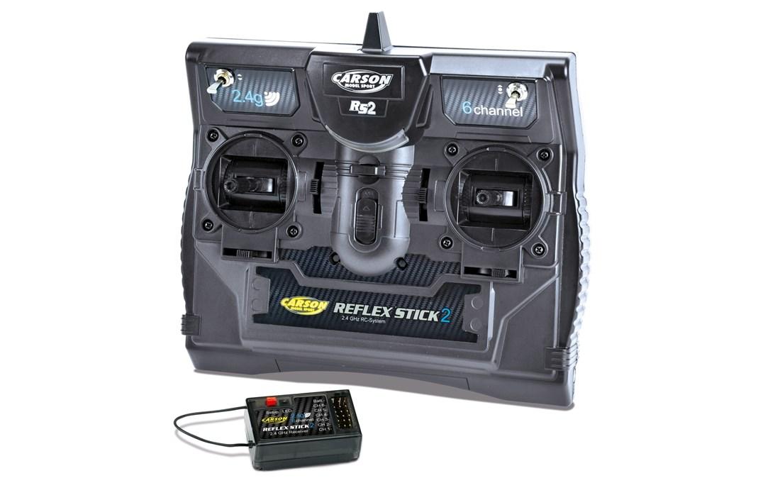 Carson ReflexStick2 6ch Radio med Mottaker 2.4GHz