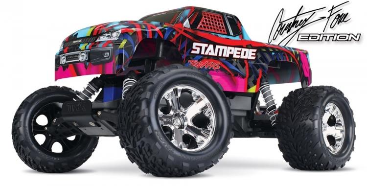 Traxxas Stampede 1/10 2WD Courtney Force/Pink-RTR