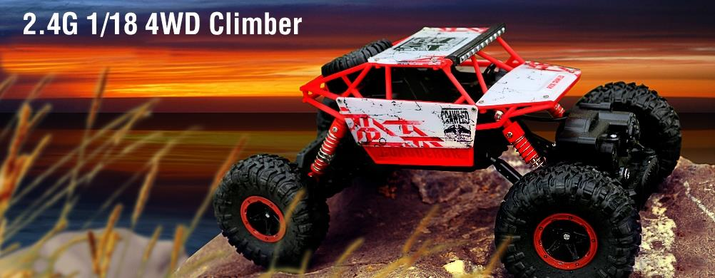 HB Rock Crawler 1:18 - RTR