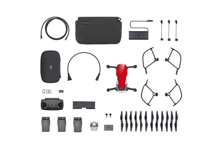 DJI Mavic Air - Fly More Combo - Flame Red