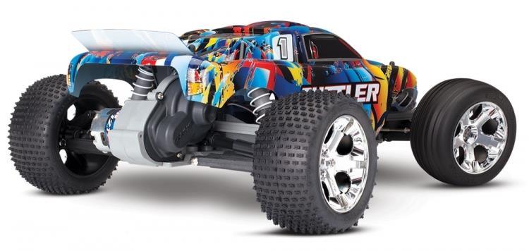 Traxxas Rustler 1/10 2WD TQ RTR u/batteri
