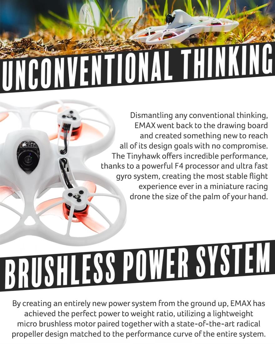 EMAX Tinyhawk Brushless FPV BNF