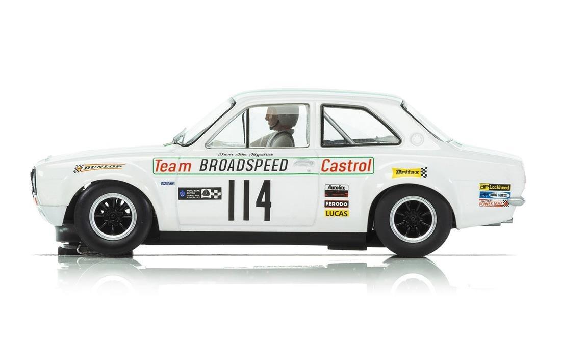 Scalextric Ford Escort MK1 - Brands Hatch 1971