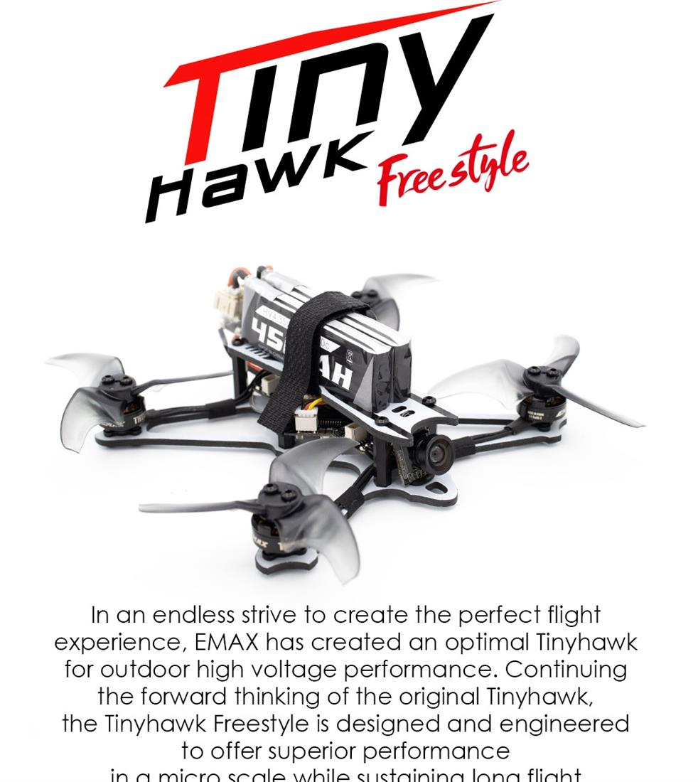 EMAX Tinyhawk Freestyle 2S FPV BNF