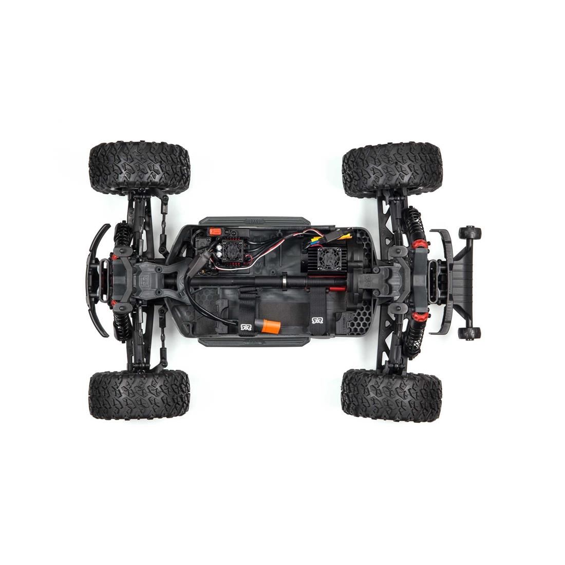 ARRMA Big Rock 4x4 V3 3s BL - RTR Black