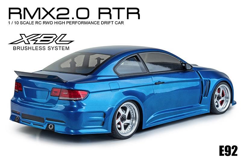 MST RMX 2.0 E92 2WD Gyro BL Drift Blå RTR