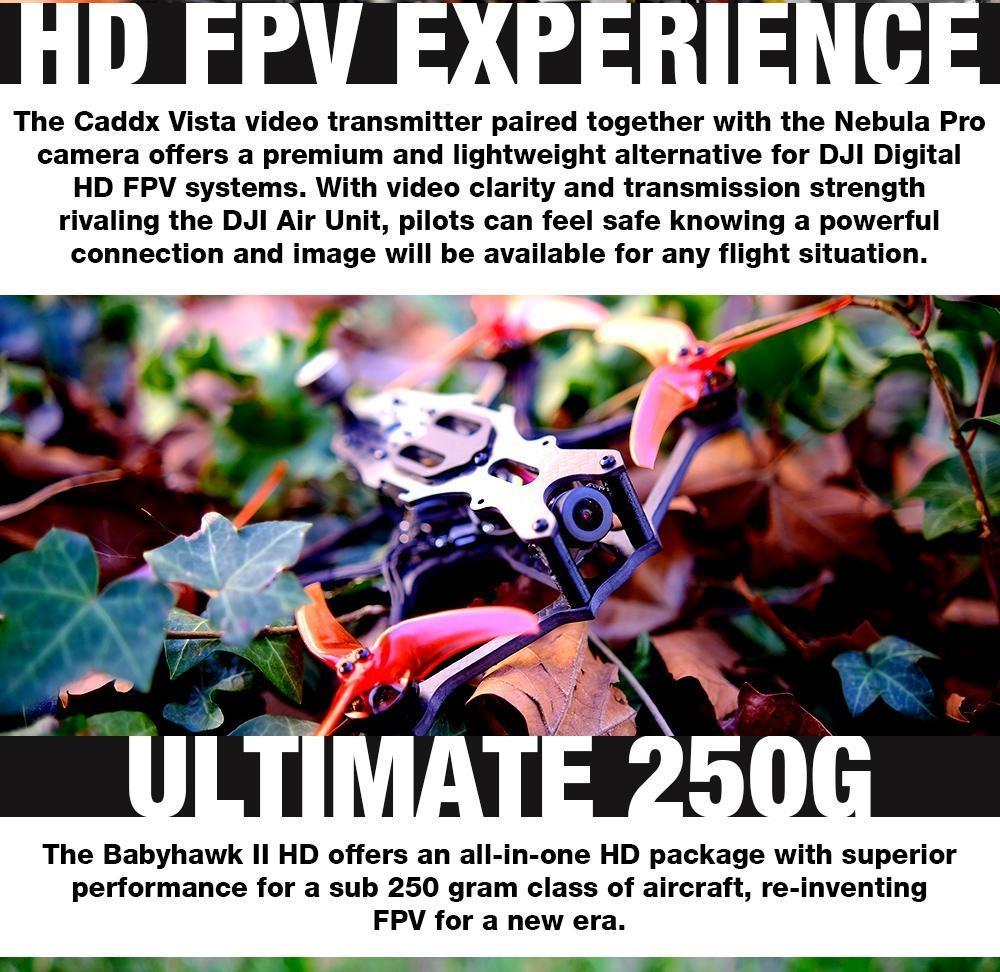 EMAX Babyhawk II HD 3.5inch 4S Micro DJI PNP