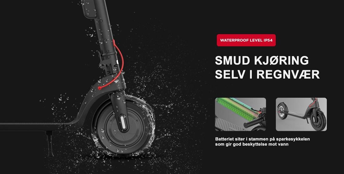 SmudRide 350LR - Elektrisk sparkesykkel 20km/t
