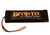 8.4V 3000mAh - Bronto SP - Ni-Mh - Tamiya plugg