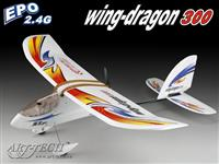 Wing Dragon 300 EPO 4ch 2.4Ghz :: KOMPLETT