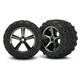 TRX-7174A Tires and wheels, assembled, glued (Gem