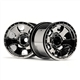 HPI-105280 Warlock Wheel Black Chrome