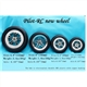 Pilot-RC Wheel 4.8inch/122mm pair