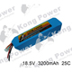 5s 3200mAh - 25C - Kong Power KP-3225-5