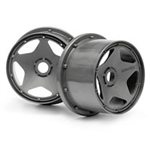 HPI-3227 Super Star Wheel Gunmetal 120x75mm
