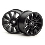 HPI-3771 10 Spoke Motor Sport Wheel 26mm Black