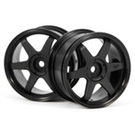 HPI-3836 TE37 Wheel 26mm Black