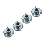 DB133 Blind Nuts 2-56 (QTY/PKG: 4 )