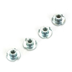 DB135 Blind Nuts 4-40 (QTY/PKG: 4 )