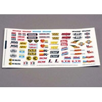 TRX-2514 Decal sheet, racing sponsors