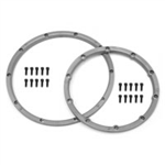 HPI-3242 HeavyDuty Wheel Locking Ring Silver