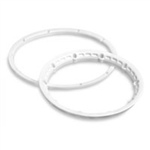 HPI-3270 HeavyDuty Wheel Locking Ring White