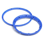 HPI-3276 HeavyDuty Wheel Locking Ring Blue