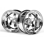 HPI-3593 Work meister S1 Wheel Chrome