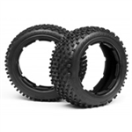 HPI-4848 DIRT BUSTER BLOCK TIRE M COMPOUND (170x6