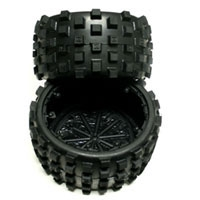 Hostile MX Knobby Tire Set ( Ekst Hard Compound )