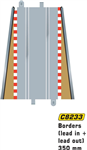 Scalextric C8233 - Borders lead in/out