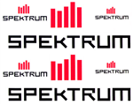Decal Zone: Spektrum Logos - 215x170mm