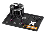 HPI-101998 Small Rubber Racing Screw Tray (Black)