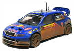 SCX Skoda Fabia WTCC - Red Bull Dirt effect