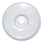 Schumacher White Dish Wheel 1/8 - 4pcs