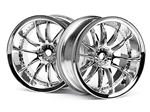 HPI-3281 Work XSA 02C Wheel - Chrome