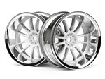 HPI-3285 Work XSA 02C Wheel 26mm Chrome (2stk)
