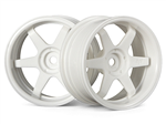 HPI-3845 TE37 Wheel 26mm White