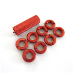 SpotOn Switch Bling JR/Spektrum DX6/7/8 - Red