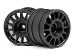 HPI-107970 WR8 Rally Off-Road Wheel Black