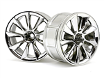 HPI-33463 LP32 Wheel ATG RS8 Chrome