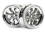 HPI-3937 MX60 8 Spoke Wheel Chrome