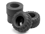 HPI-105282 GT2 Tires D Compound (2.2in/109x57mm)