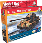 ITALERI 1:72 - SD.KFZ. 182 King Tiger Startset