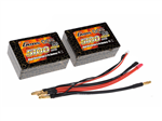 2s  5100mAh - 25C - Gens Ace Saddle Pack m/Deans