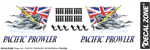 Decal Zone: Pacific Prowler UK - 250x85mm