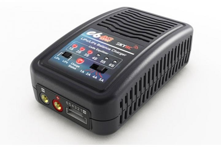 SkyRC E6 LiPo/Life Balanseringslader 2-6S 220V