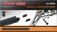 H70T004XXT 550-800 Tail Blade Clips