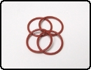 Buku QuickFill Cap Replacement O-Rings (4)