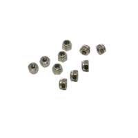 M2.5 Nylon Locknuts (10pcs)